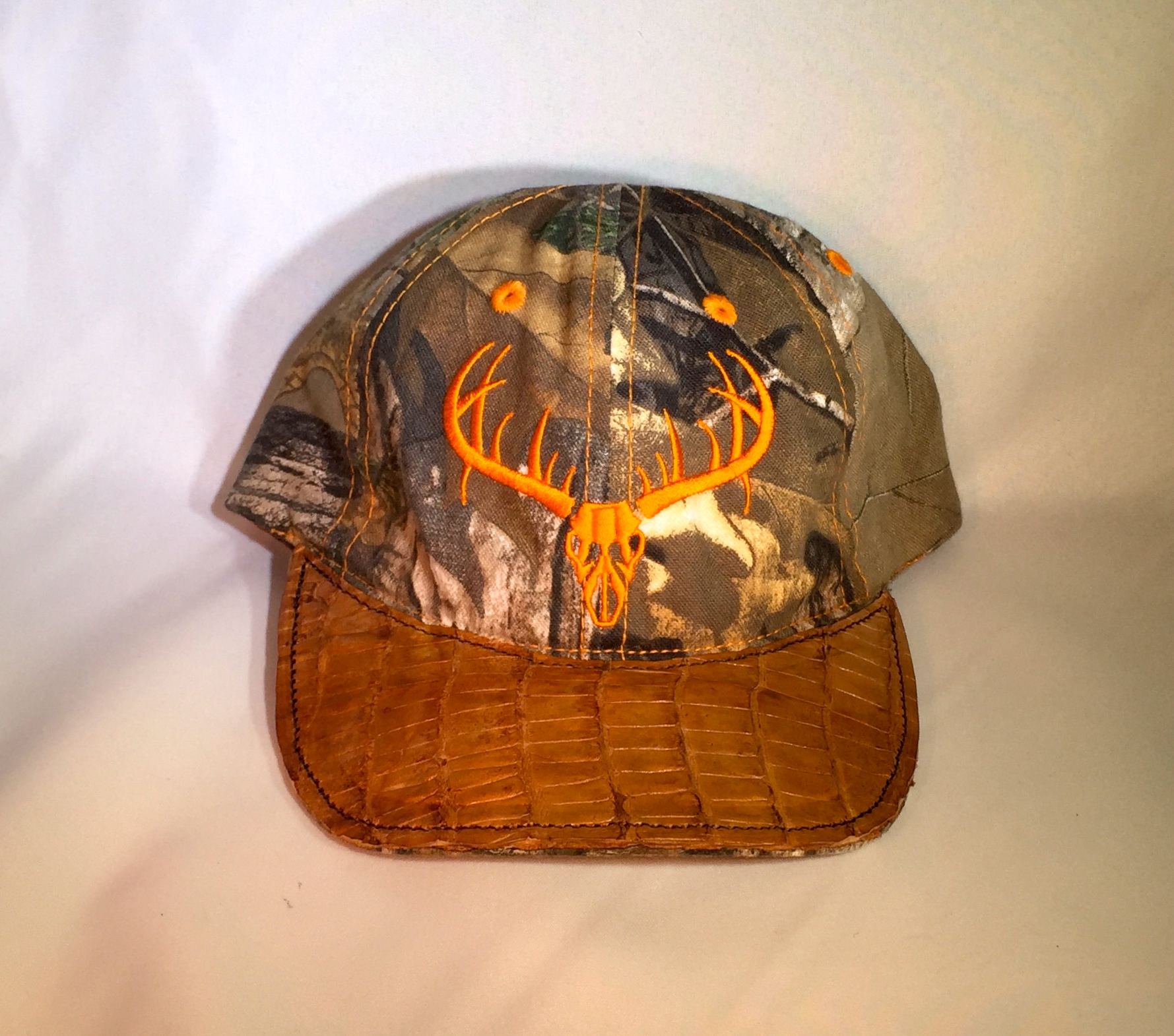 Youth Deer Head Gator Hat