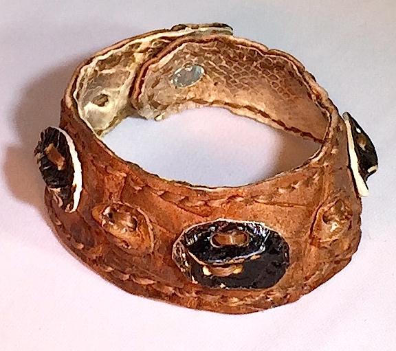 Gator Scute Bracelet